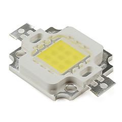 billige LED-diy 10w 800lm 900mA naturligt hvidt lys førte emitter (9-12v)