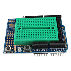 프로토 타입 (Arduino를위한) (protoshield)를위한 소형 브레드 보드와 방패