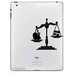 Scale Pattern Protective Sticker for The New iPad and iPad 2