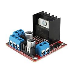 대한 L298N 듀얼 H 브리지 DC 스테퍼 모터 드라이브 컨트롤러 보드 모듈 (Arduino를위한)