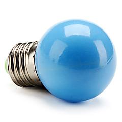 preiswerte LED-Birnen-50lm E26 / E27 LED Kugelbirnen G45 LED-Perlen Hochleistungs - LED Blau