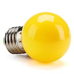 tanie Żarówki LED-0.5W 100lm E26 / E27 Żarówki LED kulki G45 Koraliki LED High Power LED Żółty 200-240V