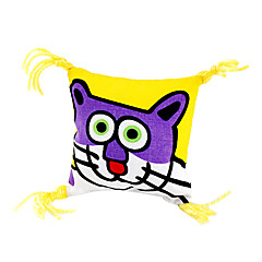 olcso Cicajátékok-Cicajáték Játékok kisállatoknak Macskamenta Rajzfilm Textil Háziállatok számára