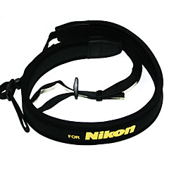 저렴한 -Neoprene Camera Neck Strap For Nikon D5000 D5100 D90 D80 D70 D3100 D700 D7000