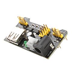 mb102의 브레드를위한 3.3V - 5V 전원 공급 장치 모듈 (검은 색)