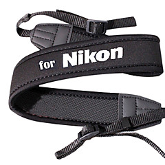 저렴한 -Neoprene Camera Neck Strap For Nikon D5000 D5100 and More