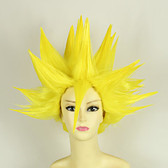 Peruki Cosplay Dragon Ball Vegeta Anime Peruki Cosplay 35 CM Włókno termoodporne Mężczyzna