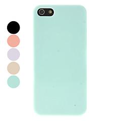 Недорогие Кейсы для iPhone-Для Кейс для iPhone 5 Other Кейс для Задняя крышка Кейс для Один цвет Твердый PC iPhone SE/5s/5