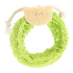 Köpek Oyuncağı Evcil Hayvan Oyuncakları Çiğneme Oyuncağı Oyuncak Diş Temizleme Loofahs & Sponges Karton Dokuma Sarı Gül Yeşil