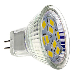 economico Bulk lampadine LED-2 W 200 lm GU4(MR11) Faretti LED MR11 9 Perline LED SMD 5730 Bianco caldo 12 V