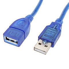 voordelige USB-USB2.0 AF / AM-verlengkabel (20 cm)