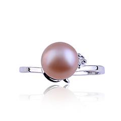 preiswerte Ringe-Damen Bandring - Perle, Krystall, Diamantimitate Modisch 9 / 8½ / 9½ Weiß / Blau / Rosa Für Alltag / Aleación
