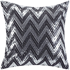 Polyester Pillow Cover , Chevron Modern/Contemporary 19*19cm