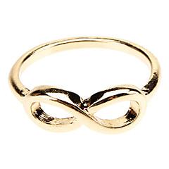 preiswerte Ringe-Damen Bandring - Aleación Unendlichkeit Schmuck Gold / Schwarz / Silber Für Alltag 8