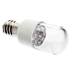 0.5W E14 LED-kaarslampen 7 leds Dip LED 45lm Warm wit 2800KK Decoratief AC 220-240