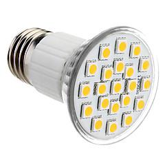 お買い得  LED 電球-150lm E26 / E27 LEDスポットライト PAR38 21 LEDビーズ SMD 5050 温白色 220-240V