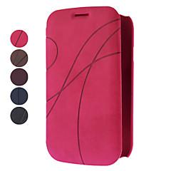 tok Για Samsung Galaxy Samsung Galaxy Θήκη Θήκη καρτών Ανοιγόμενη Ανάγλυφη Πλήρης κάλυψη Συμπαγές Χρώμα PU Δέρμα για Grand