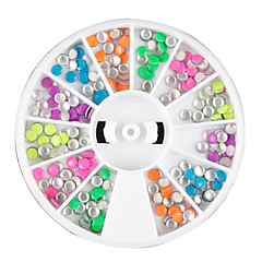 12 Color Mini Rivet Nail Art Decoration