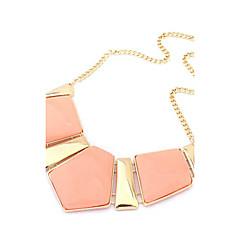Női Rövid nyakláncok Szintetikus drágakövek Ötvözet Divat luxus ékszer Európai Ékszerek Kompatibilitás Parti Napi
