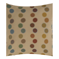 "18"" Square Polka Dots Polyester Cotton Decorative Pillow Cover"