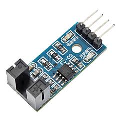 お買い得  センサー-用(Arduinoのための)青LM393コンパレータ速度センサモジュール(公式(Arduinoのための)ボードで動作します)