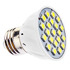 お買い得  LED 電球-6500 lm E26/E27 LEDスポットライト MR16 21 LEDの SMD 5050 ナチュラルホワイト AC 110〜130V AC 220-240V