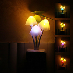 Mushroom Shaped Colorful LED Night Light High Quality Night Light