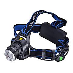 お買い得  ヘッドランプ-LED懐中電灯 / ヘッドランプ / 自転車用ヘッドライト LED 1000 lm 3 照明モード キャンプ / ハイキング / ケイビング / 日常使用 / サイクリング