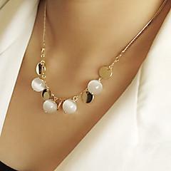Недорогие Женские украшения-Жен. Ожерелья с подвесками - Мода Ожерелье Назначение Для вечеринок