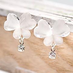 Dames Druppel oorbellen Uniek ontwerp Kostuum juwelen Eenvoudige Stijl Strass Legering Dierenvorm Vlinder Sieraden Voor Feest Dagelijks