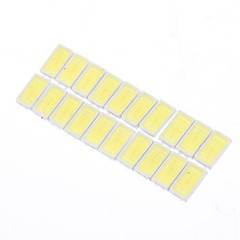 0.5W 5730SMD 50LM 6000K Cool White Light LED-lamppu Helmi