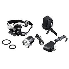 Lekkie 3 x CREE XM-L T6 3600 lumenów 4 tryby LED Light Bicycle i reflektor (K3-B, 4 x 18650 Battery)