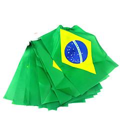 abordables Herramientas de Broma-Banderas nacionales bandera Hang de Brasil