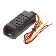 AM2301 capacitivo Digital Temperatura Umidade Sensor - Preto (3,3 ~ 5,5 V)