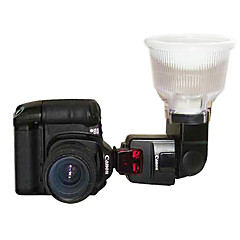 Canon 550EX 580EX II 2 Renkli Dome için zekâ pırıltısı Flash Difüzör P4