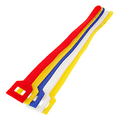 Hook & Loop Fastening Cable Ties Colorful 5 pcs