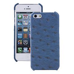 Для Кейс для iPhone 5 С узором Кейс для Задняя крышка Кейс для Плитка Твердый Искусственная кожа iPhone SE/5s/5