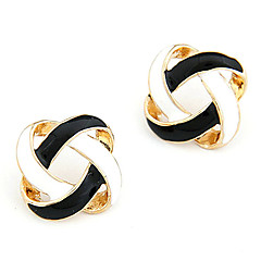 Women's Stud Earrings Basic Simple Style Hollow Costume Jewelry Alloy Jewelry Jewelry For Daily Casual