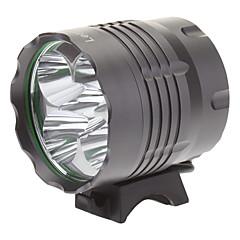 preiswerte Stirnlampen-Beleuchtung Stirnlampen Radlichter LED 4000 Lumen 3 Modus Cree XM-L T6 18650Camping / Wandern / Erkundungen Für den täglichen Einsatz