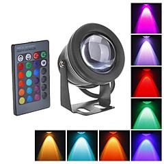 tanie Oświetlenie zewnętrzne-Reflektory LED Oświetlenie podwodne 800 lm RGB Wodoodporne DC 12 V