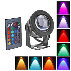 LED 투광 조명 수중 조명 800 lm RGB 방수 DC 12 V