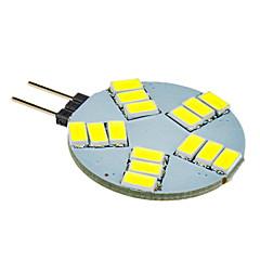 G4 LED-kohdevalaisimet 15 ledit SMD 5630 Kylmä valkoinen 330lm 5500-6500K DC 12V