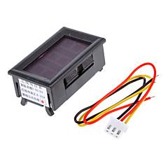V099 0-99.9V Tre-Wire strömförsörjning 4,0-30V Digital / Digital Voltmeter Pannband Polaritet Skydd