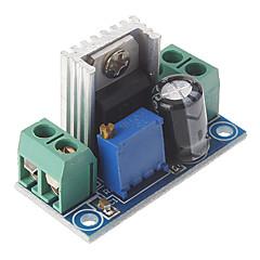 Недорогие Аксессуары для Arduino-lm317 dc 40v до 1.2 ~ 7v напряжение понижающая монтажная плата регулируемый стабилизатор напряжения питания