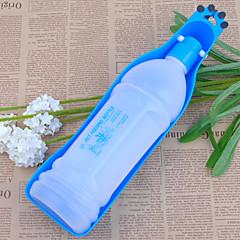 abordables Accesorios Mascota-Perro Cuencos y Botellas de Agua Mascotas Cuencos y Alimentación Portátil Rojo / Azul