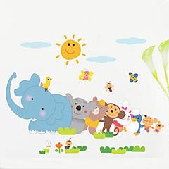 falimatrica állat gyermek hálószoba háttér fali dekoráció vízálló poszter