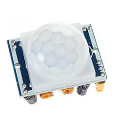 Hc-Sr501 Juster Ir Pyroelektrisk Infrarød Pir Bevægelsessensor Detektor Modul