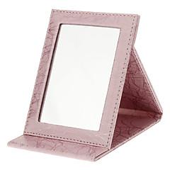 お買い得  鏡-メイク用品収納 鏡 16.5*12.2*1.7 オレンジ