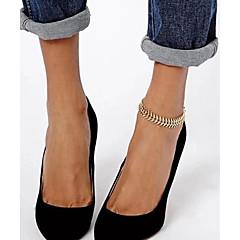 Ayak bileziği/Bilezikler Others Eşsiz Tasarım Moda alaşım Altın Bayanlar Mücevher 1pc