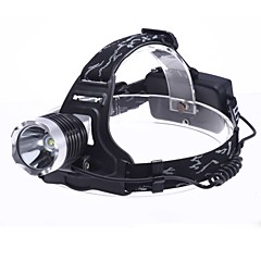 LED Flashlights / Torch Headlamps Headlight LED 1800 lm 3 Mode - for Camping/Hiking/Caving Batteries not included